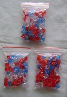 Acrylic gem beads