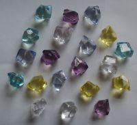 Acrylic stone beads