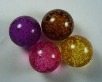 Acrylic color bubble ball