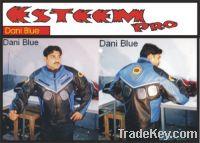 Leather racing jacket