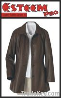 Sell leather fashion coat