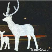 Sell LED 3D reindeer motif light