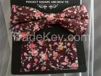 bow tie , bow tie package , bowtie with handky