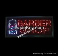 Barber led sign  (KS-PLS014)