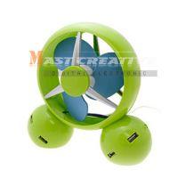 Sell Desk Cool Wind Fan with 4 Port USB Hub