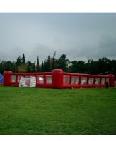 Sell inflatable football playground