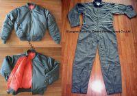 Sell flight suit/flight jacket/Nomex Coverall/fabric/thread/zipper
