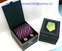 Sell cufflink boxes;necktie box