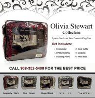 Olivia Stewart 7 Piece Comforter Set