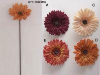 Artificial Flowers -single gerbera(autumn)(GT0100325MQ)