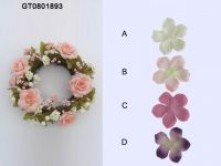 Artificial Flowers -6''''rose ring(autumn)(GT0801893)