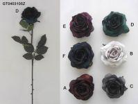 Artificial Flowers -single rose(autumn)(GT0403105Z)