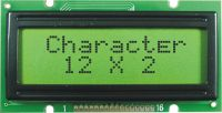 Sell 12 x 2 Character LCD Module with Yellow and Green LED Backlight