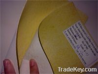 Solvent chemical sheet, toe puff with glue, shoe upper