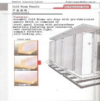Prefabricated Chiller Room for meat/vegetable storage