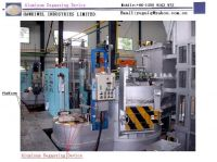 Specially designed Aluminun Degassing Device to remove air bubble