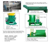 PET flakes washing/dehydrating Machines