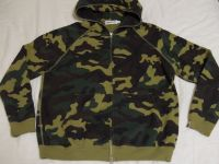 Hot Quality Material, Camo Zippered Hoodie Jackets.