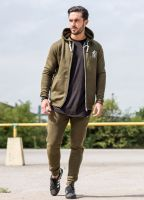 Khaki Greens Tracksuit Slim fit Fleece lining with the great quality of the set!..