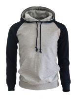Grey & Navy Men's Pullover Hoodies.New Model 2018