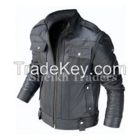 LionStar Top Quality Focus Motorbike / Motorcycle Leather Jacket