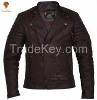 LionStar Brando Top Quality Motorbike / Motorcycle Leather Jacket