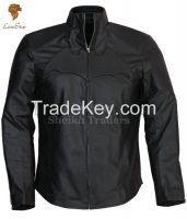 LionStar Batman Style Leather Jacket for Men