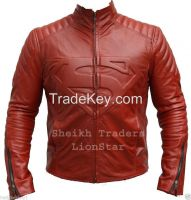 LionStar Superman Style Leather Jacket for Men