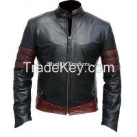 LionStar XMen Wolverine Style Leather Jacket for Men
