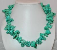 Wholesale turquoise necklace, strands, bracelet and earrings