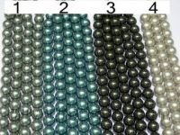wholesale jewelry -South sea shell pearl strands,14mm or else sizes
