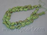 wholesale jewelry -irregular shape turquoise strands