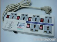Sell 6 way extension socket with light indicator
