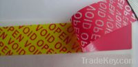 tamper evident labels/stickers