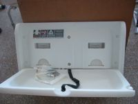 Sell baby changing station/folding shower chair/bath safety rail