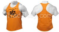 Gym Tanktop, Weight lifting Stringers, Gym Training Singlet Tank Top