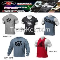 Best Gym T shirt with Customized Design T Shirt