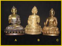 Brass Idols statues