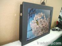 12 inch LCD digital media player signage