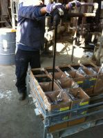 High temperature bag for bitumen