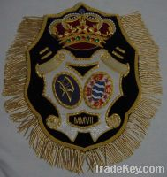 Sell Hand Embroidery Bullion Wire Blazer Badges