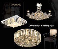 pendant crystal lamp