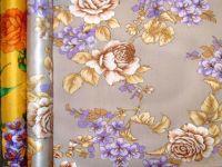 sell printed silk satin