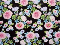 sell printed silk kimono fabric