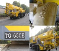sell used truck crane, TADANO crane, used crane 65 ton(TG-650E)