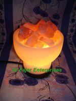 Bowl Shape salt Lamp