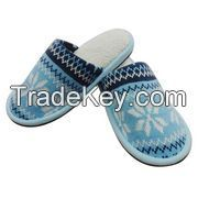Knitted Indoor Slippers, Soft to Wear, Beautiful Design, Colors and Sizes Can Be Customized