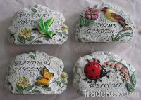 decorative garden stone