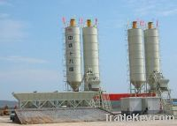 Sell HZS50 Stationary concrete mixing plant