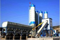 Sell HLS90 stationary concrete batching plant